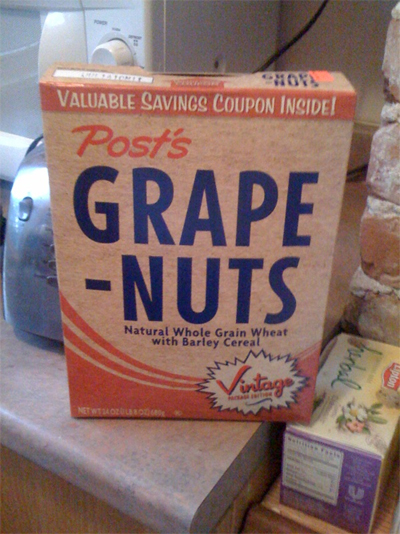 Vintage Grape Nuts