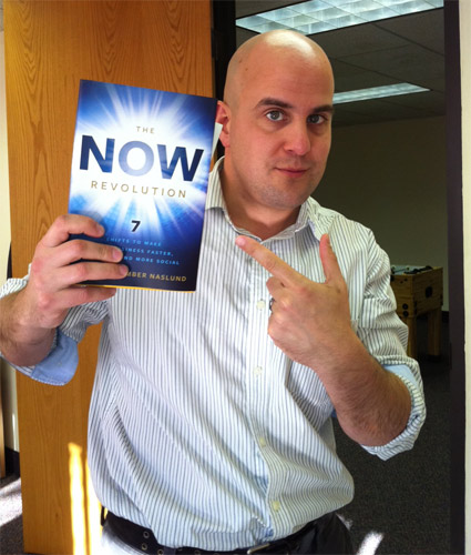 Win a copy of The Now Revolution from Jason Pinto