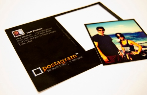 Postagram - Convert mobile phone pictures into printed postcards
